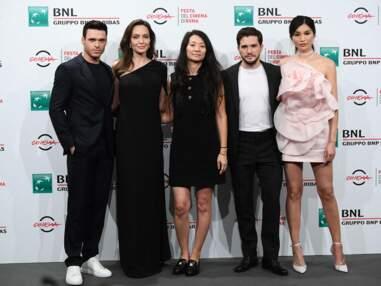 PHOTOS - Angelina Jolie et l'équipe du film The Eternals, au Festival du film de Rome