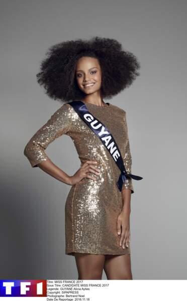 Alicia Aylies, Miss Guyane