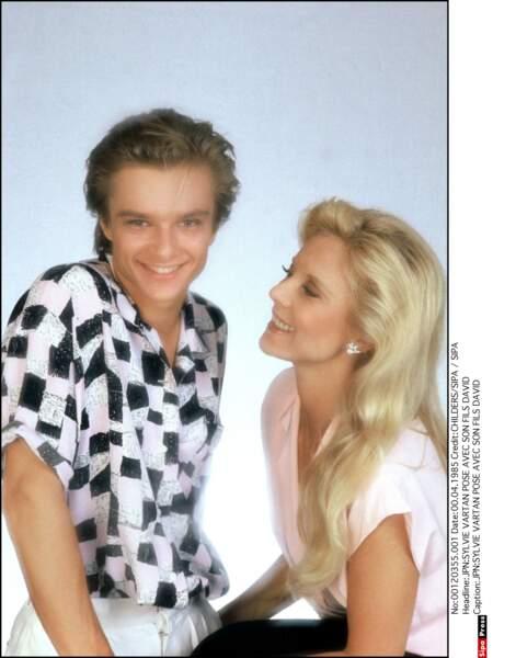 1985. Sylvie et David.