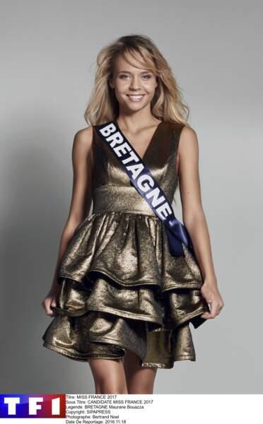 Maurane Bouazza, Miss Bretagne