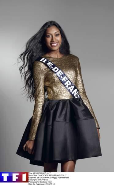 Meggy Pyaneeandee, Miss Ile de France