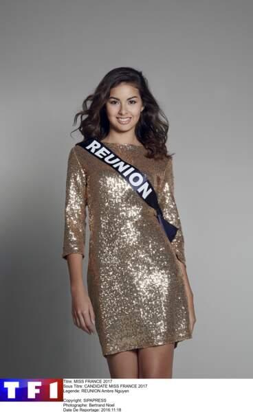 Ambre Nguyen, Miss Réunion