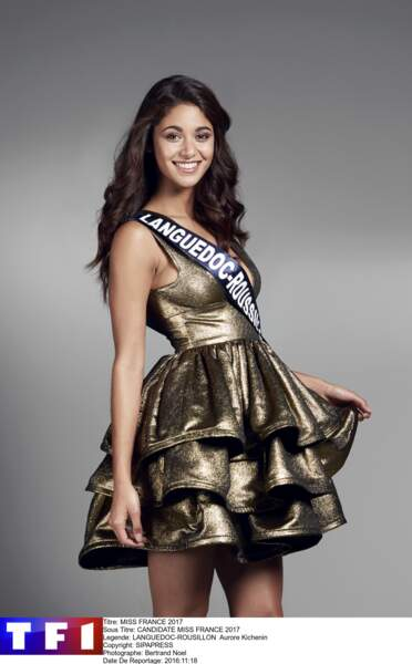 Aurore Kichenin, Miss Languedoc-Roussillon