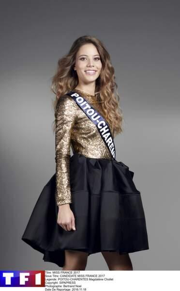 Magdalène Chollet, Miss Poitou-Charentes