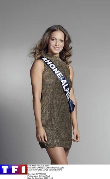 Camille Bernard, Miss Rhône-Alpes