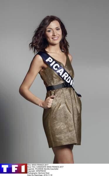 Myrtille Cauchefer, Miss Picardie