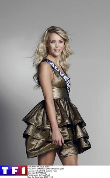 Océane Faure, Miss Auvergne