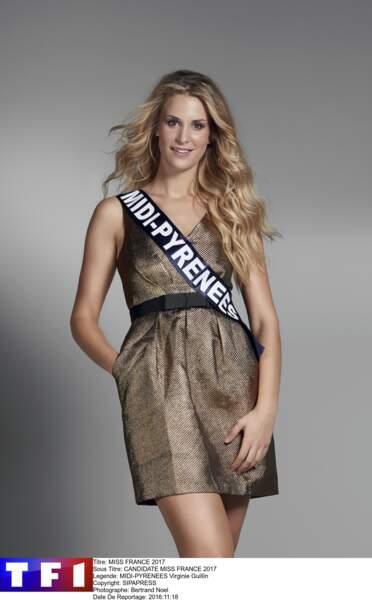 Virginie Guillin, Miss Midi-Pyrénées