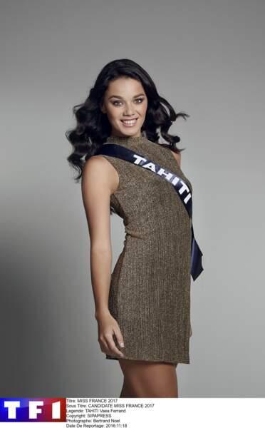 Vaea Ferrand, Miss Tahiti
