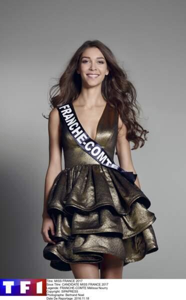 Mélissa Nourry, Miss Franche-Comté
