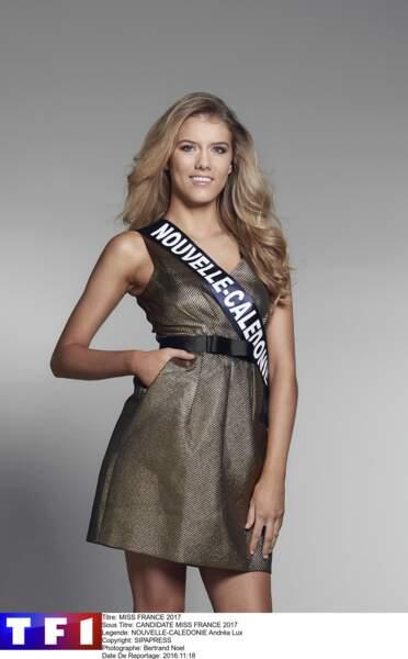Andréa Lux, Miss Nouvelle-Calédonie