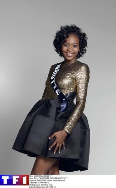 Naima Madi Mahadali, Miss Mayotte