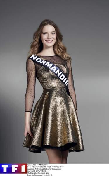 Esther Houdement, Miss Normandie