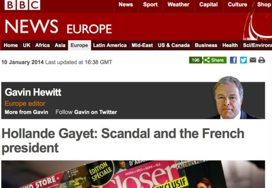 La BBC ouvre la rubrique internationale sur la liaison