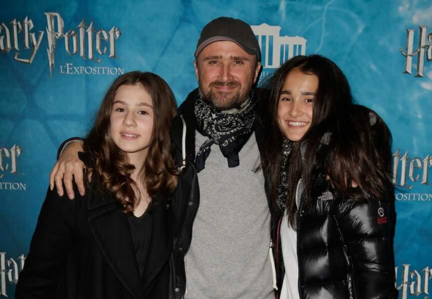 Alexandre Brasseur et ses filles