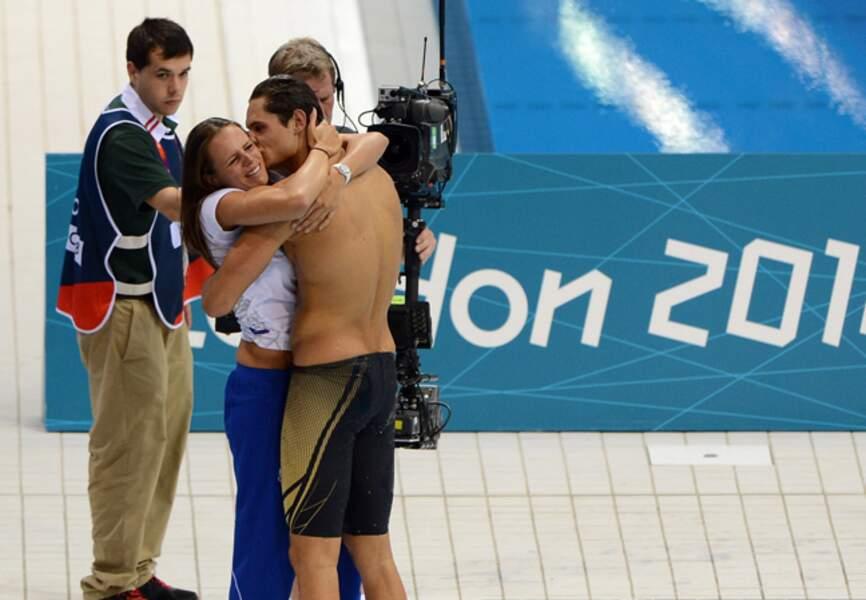 La relève est assurée avec son frère Florent Manaudou, médaillé d'or à Londres