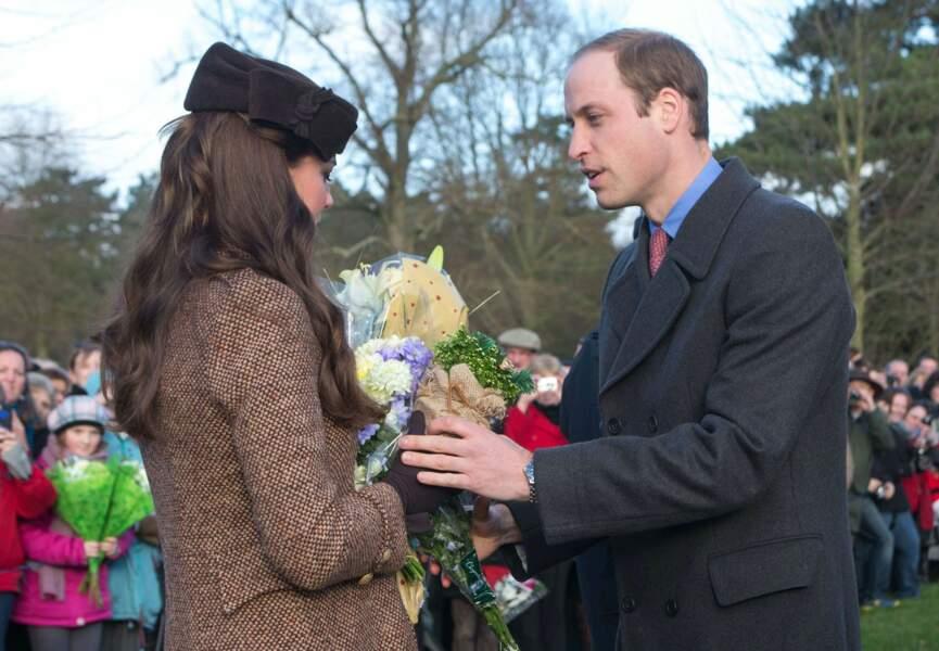William prend soin de sa chère épouse