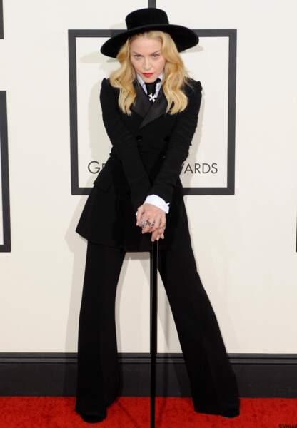 Madonna en Ralph Lauren.