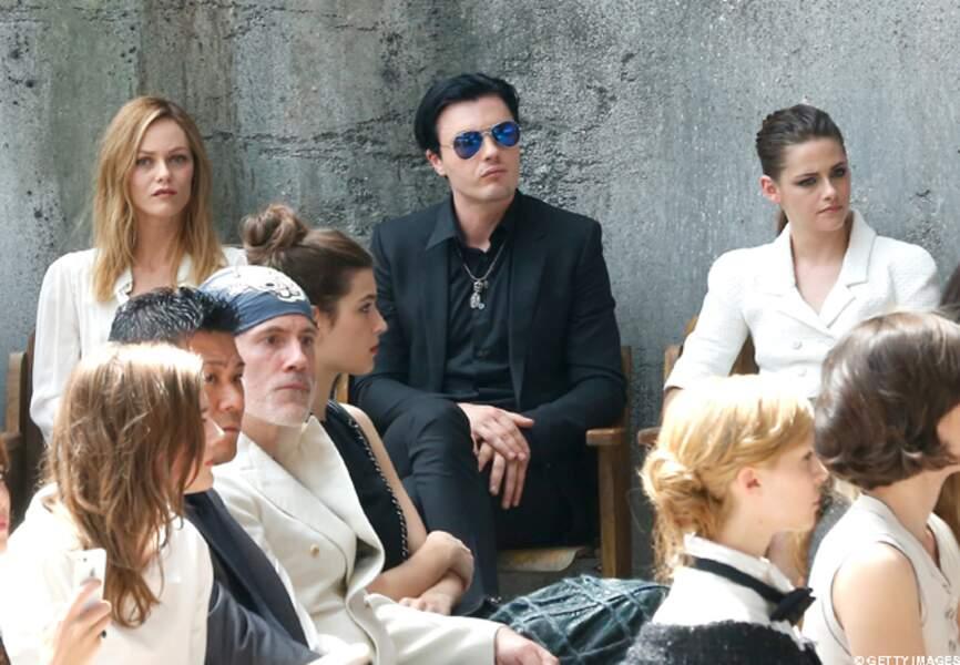 Vanessa Paradis, Michael Pitt, Kristen Stewart, jolie brochette
