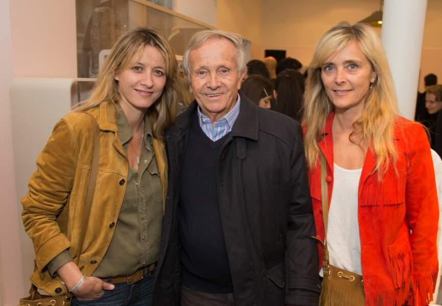 Sarah Lavoine et son père Jean Marie Poniatowski. Marie Poniatowski (designeuse Stone Paris)