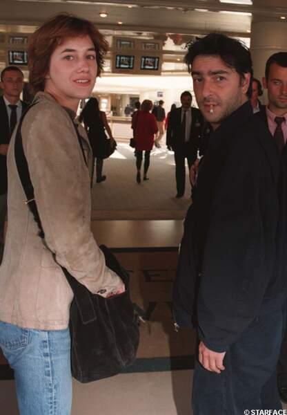 Charlotte Gainsbourg et Yvan Attal à Deauville en 1996