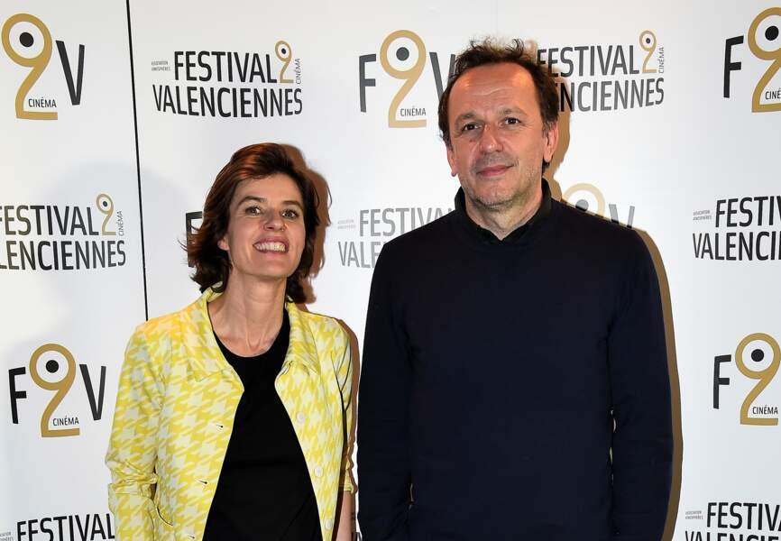 """Irène Jacob et Arnaud Viard, venus présenter le très réussi """"Arnaud fait son deuxième film"""""""
