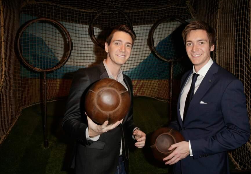 James et Oliver Phelps, aka les frères Weasley