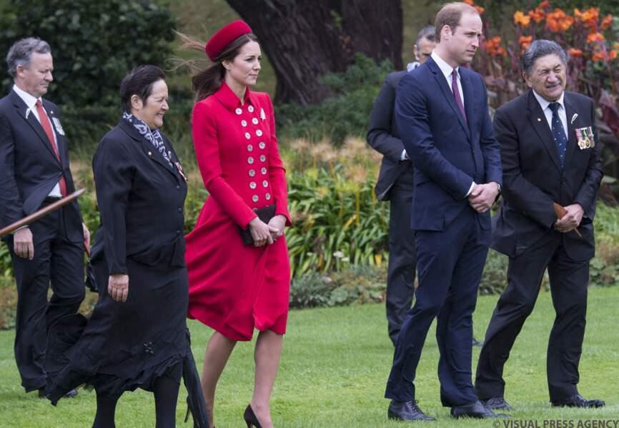 Le premier déplacement officiel de la famille princière