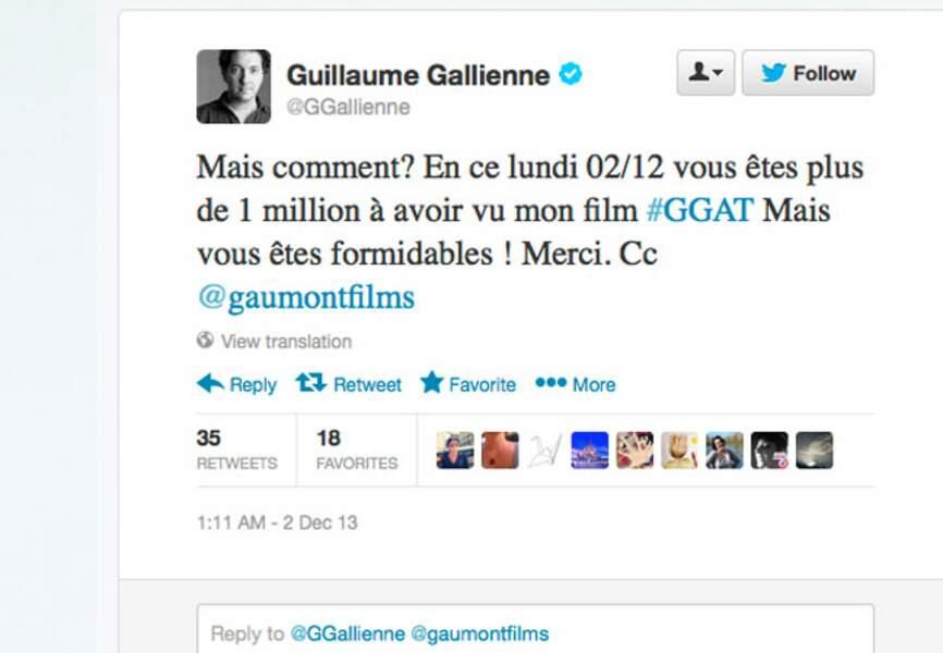 Guillaume Galienne star du box office
