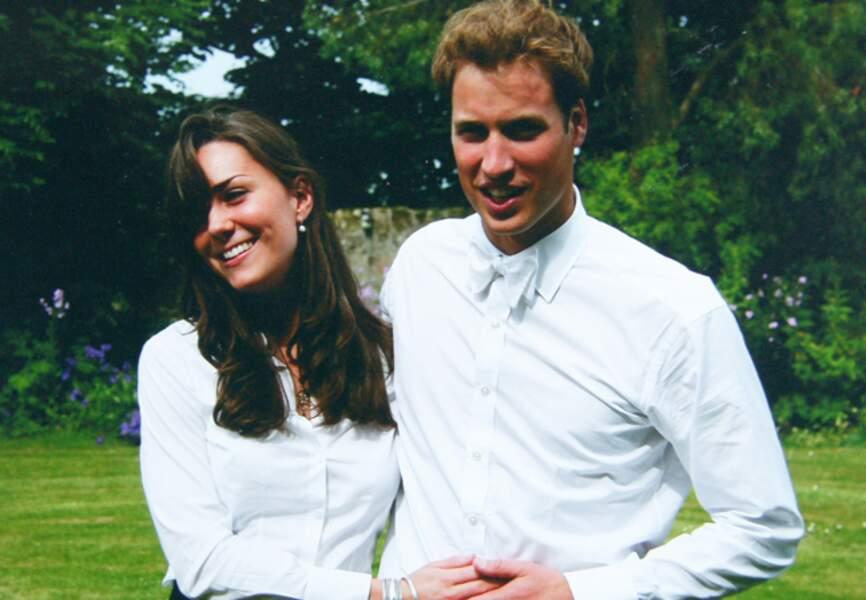 Les deux jeunes gens se rencontrent à l'université écossaise de St. Andrews, au début des années 2000
