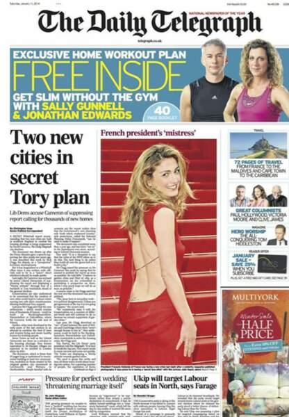 The Daily Telegraph revient sur la liaison Hollande-Gayet