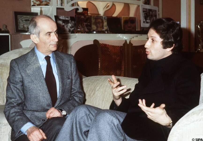 Michel Drucker interviewe Louis de Funès en 1978