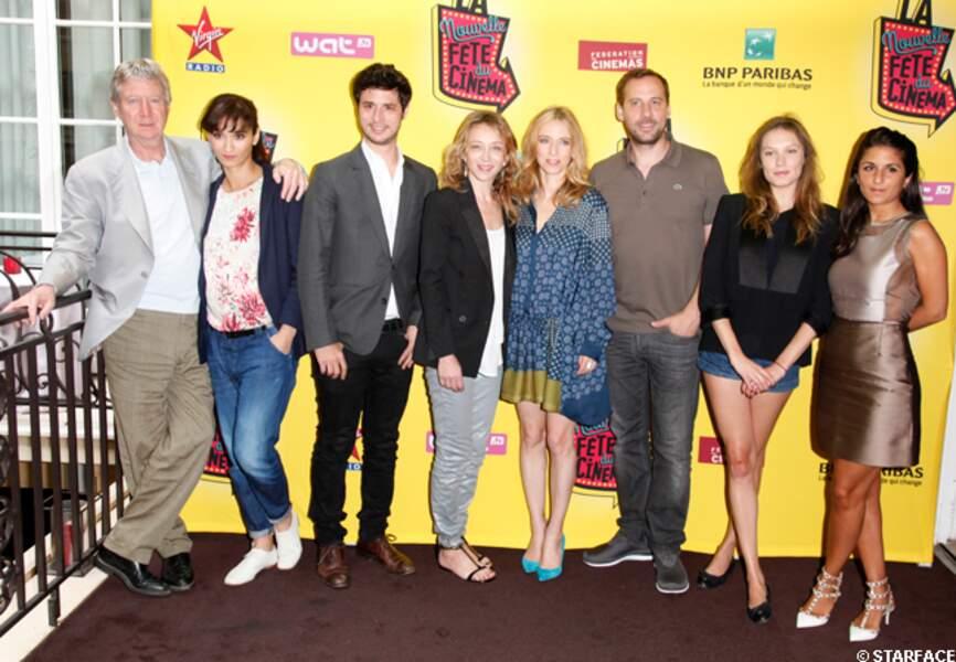 Toute l'équipe de la Fête du cinéma 2013