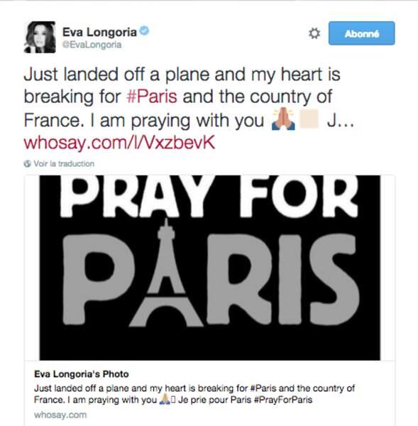 Eva Longoria, la plus Française des Américaines se souvient de Paris