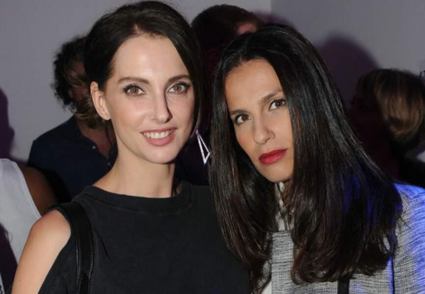 Frédérique Bel et Elisa Tovati