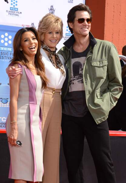 Eva Longoria est à l'honneur avec Jane Fonda et Jim Carrey lors du festival TCM du film classique