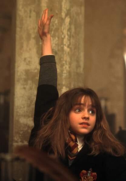 Emma Watson est l'autre apprentie sorcière découverte dans la saga Harry Potter