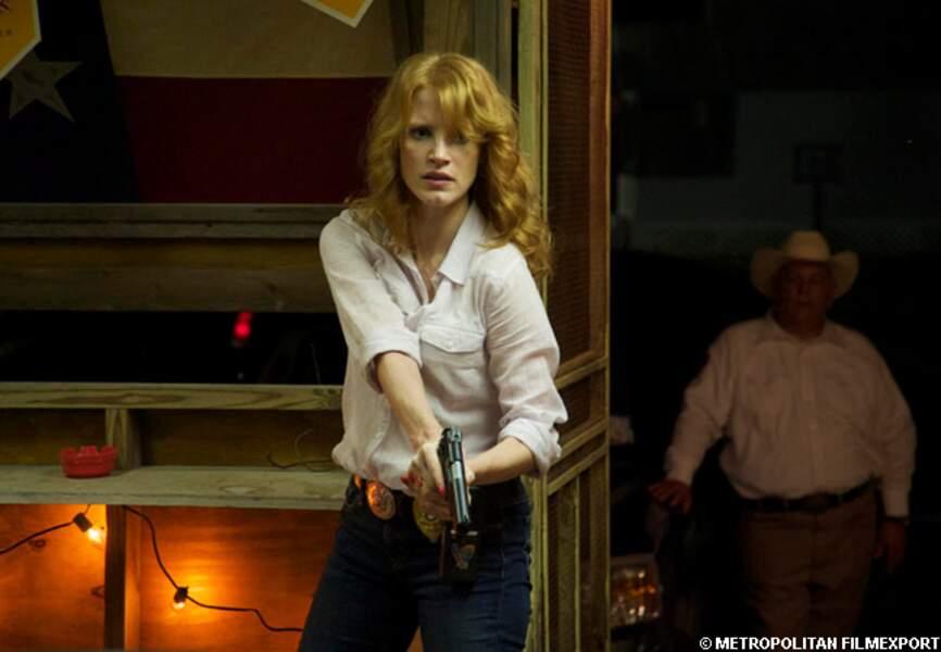 Jessica Chastain dans Killing Fields