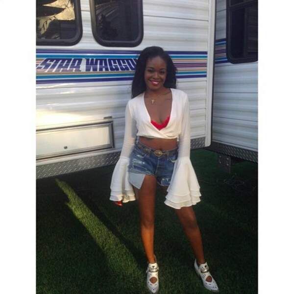La rappeuse Azealia Banks
