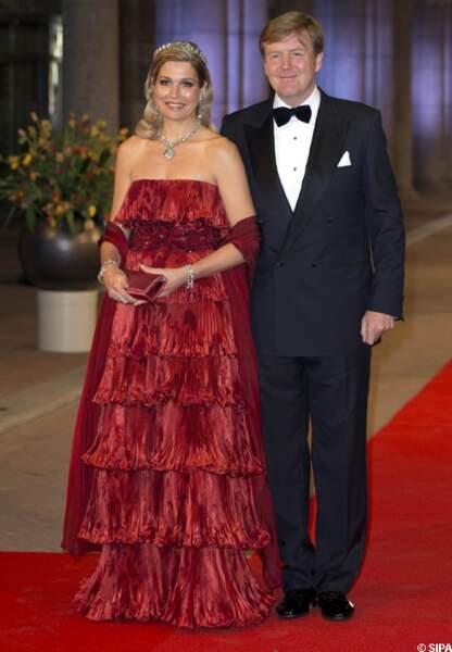 Maxima et Willem-Alexander des Pays-Bas