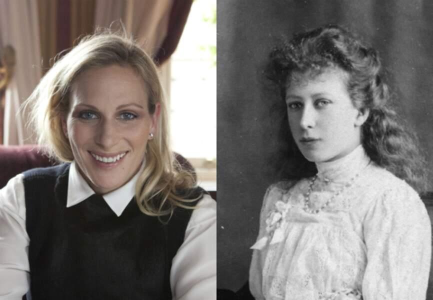 Zara Phillips et la princesse Mary, la fille unique du roi George V