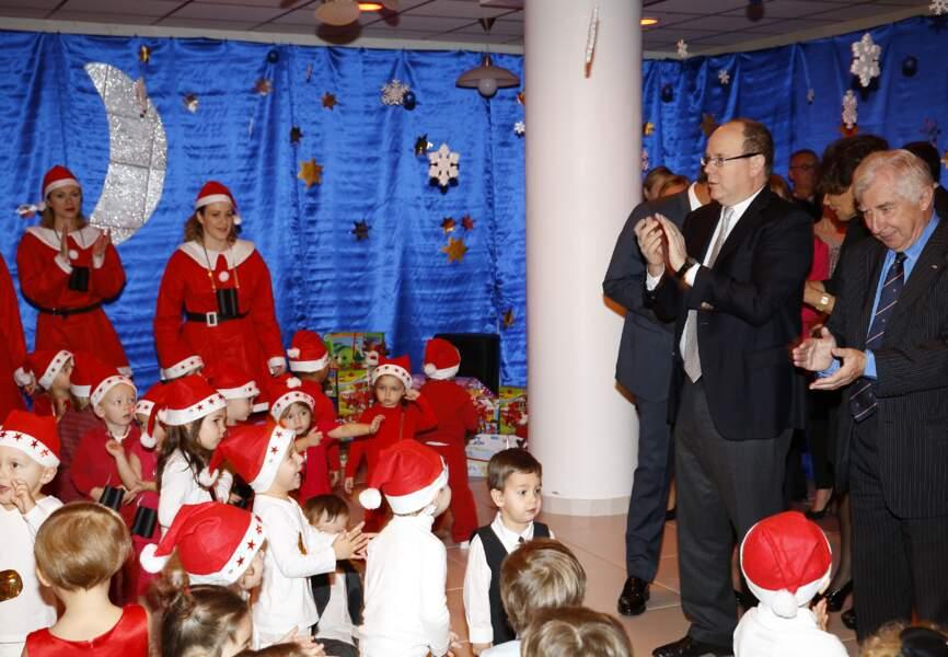 La nurserie monégasque de la Croix-Rouge avait organisé un adorable show