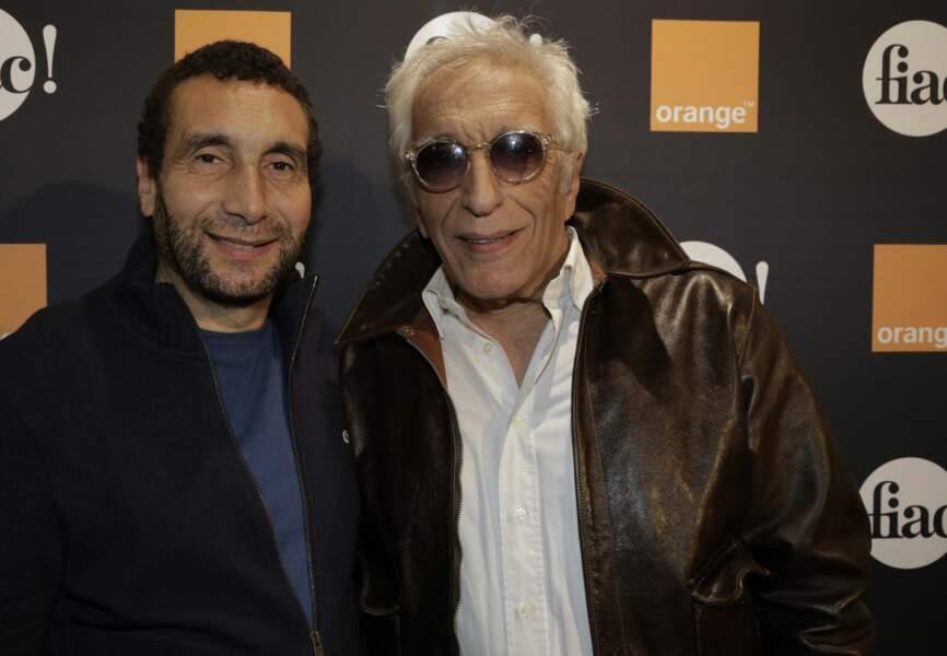 Zinedine Soualem et Gérard Darmon