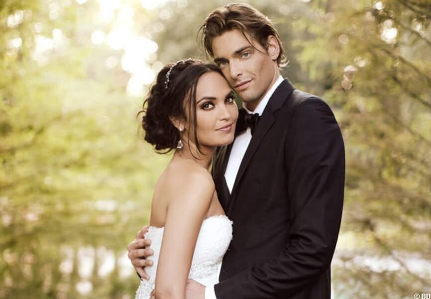 Valérie Bègue et Camille Lacourt: le mariage, le vrai!