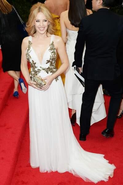 Kylie Minogue en Marchesa