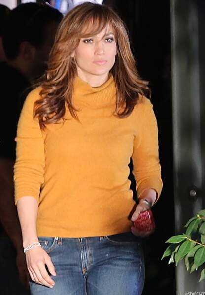 La chanteuse latino-américaine Jennifer Lopez