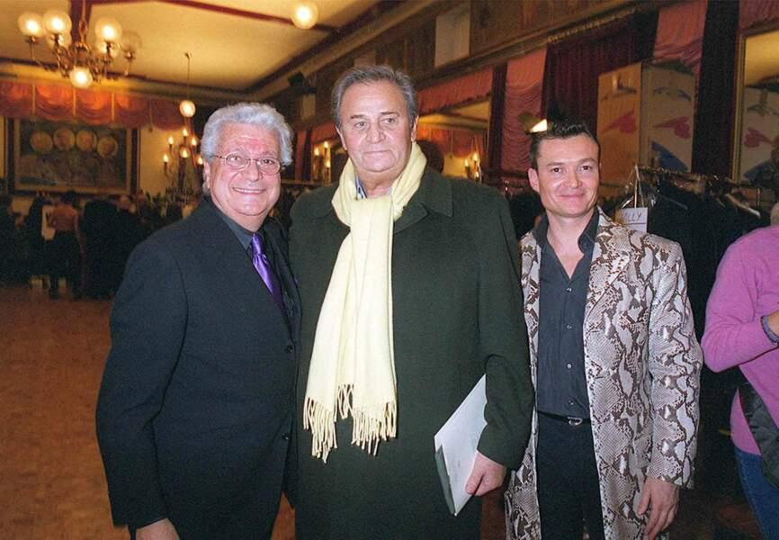 Francesco avec Roger Hanin