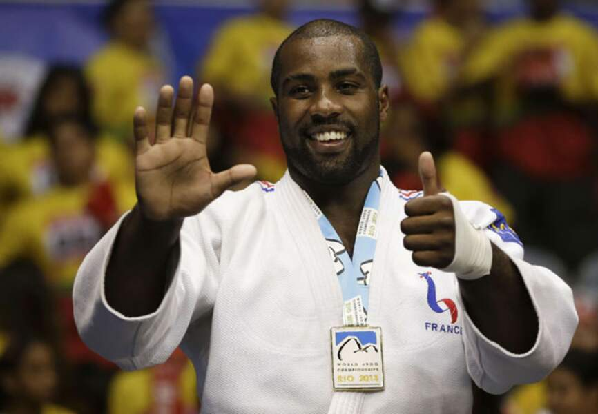 Teddy Riner, le judoka français invincible