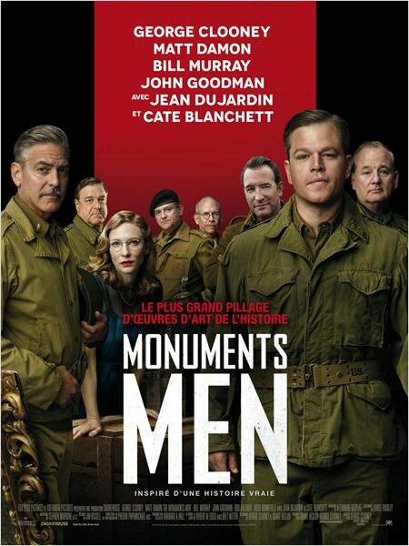 Monuments men de george Clooney en 2014