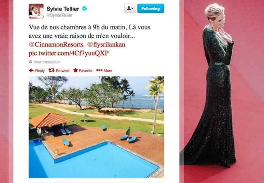 Sylvie Tellier a la belle vie